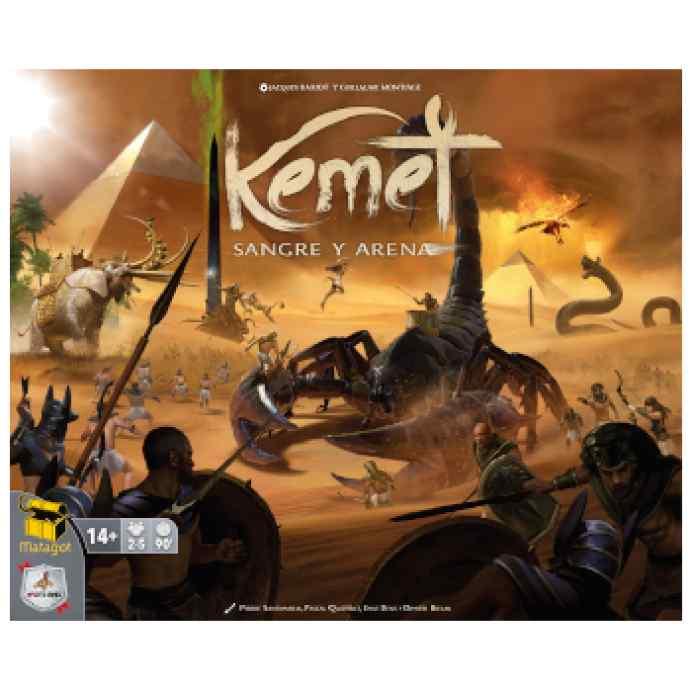 Kemet: Sangre y Arena TABLERUM