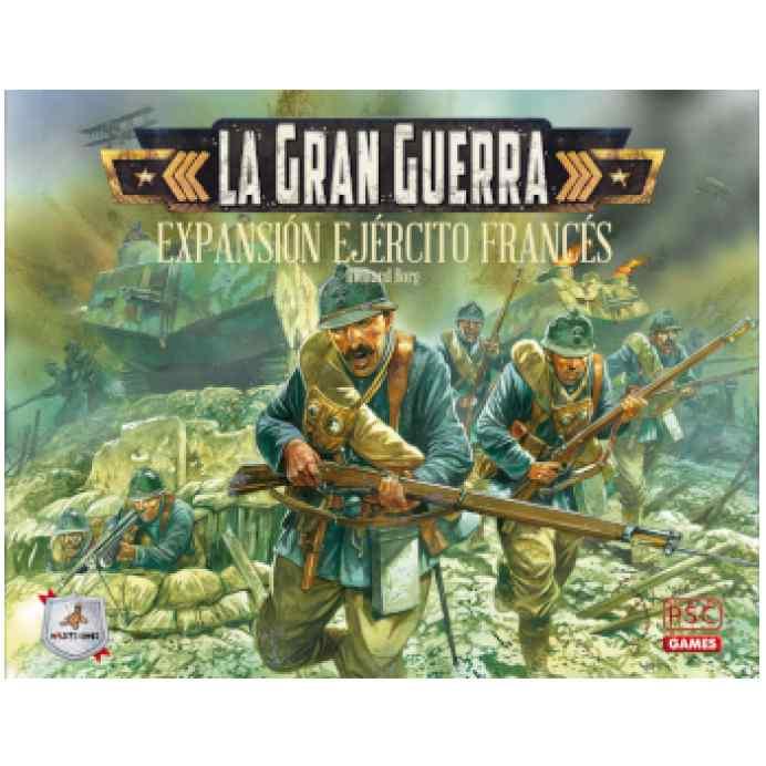 La Gran Guerra: Ejército Francés TABLERUM