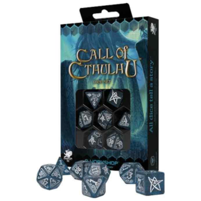 La llamada de Cthulhu: Set de Dados Abyssal & White TABLERUM