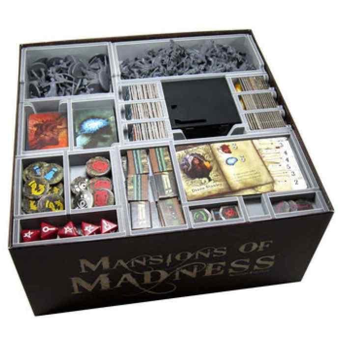 Las Mansiones de la Locura 2ªEd Inserto Folded Space TABLERUM