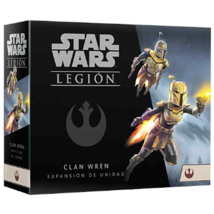 Star Wars Legión: Clan Wren Expansión de Unidad TABLERUM