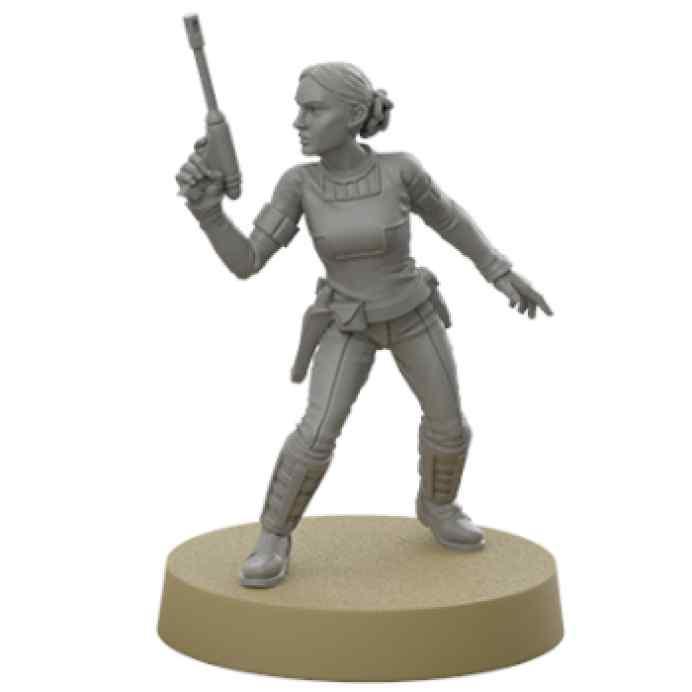 Star Wars Legión: Padmé Amidala Expansión de agente TABLERUM
