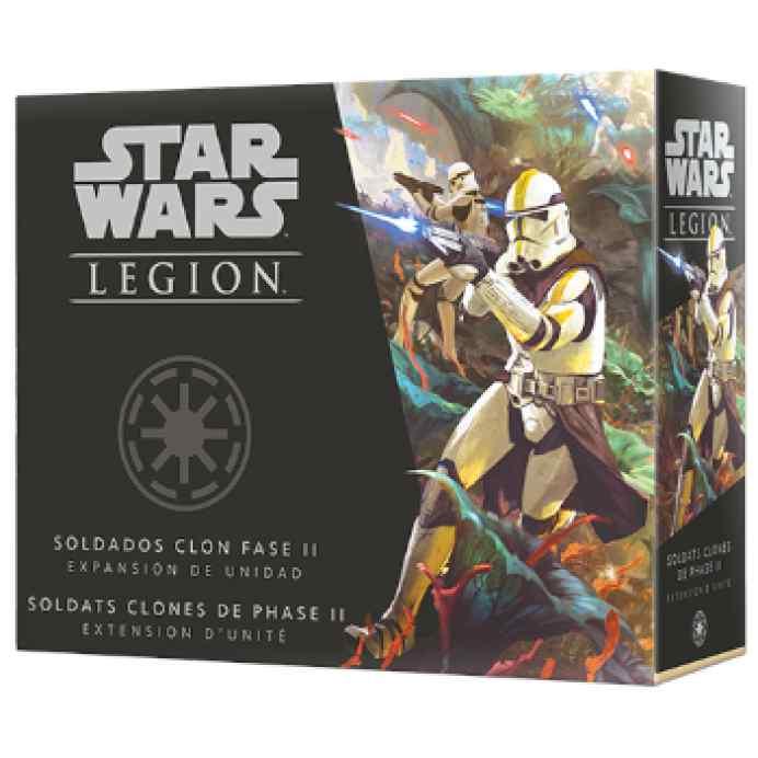 Star Wars Legión: Soldados Clon Fase II TABLERUM