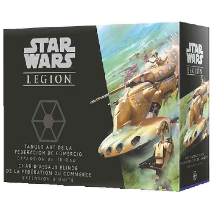 Star Wars Legión: Tanque AAT de la Federación de Comercio TABLERUM