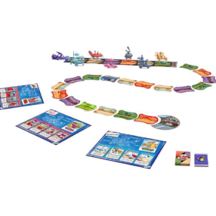 Los Autos Locos: El juego de tablero TABLERUM