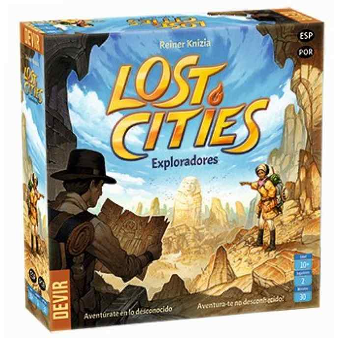 Lost Cities - Exploradores 2018 TABLERUM