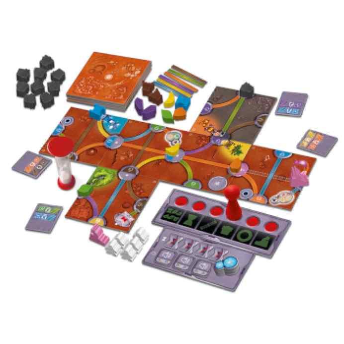 Magic Maze en Marte TABLERUM