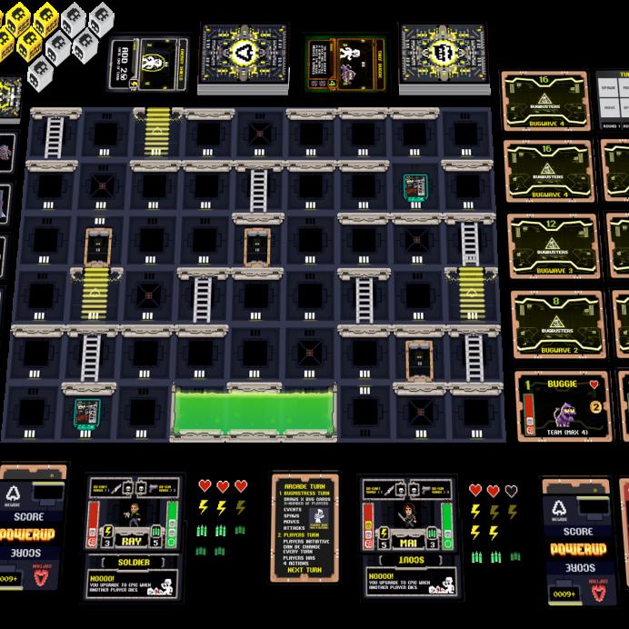 juego powerup kickstarter