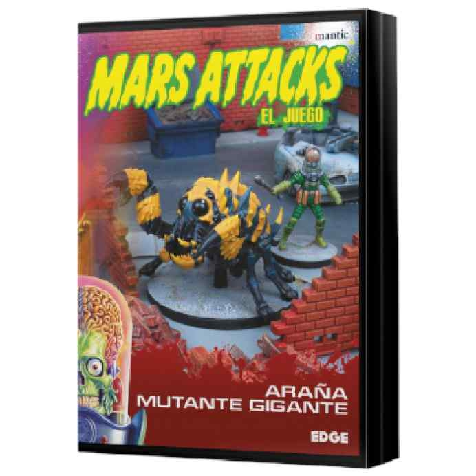 Mars Attacks: Araña mutante gigante TABLERUM
