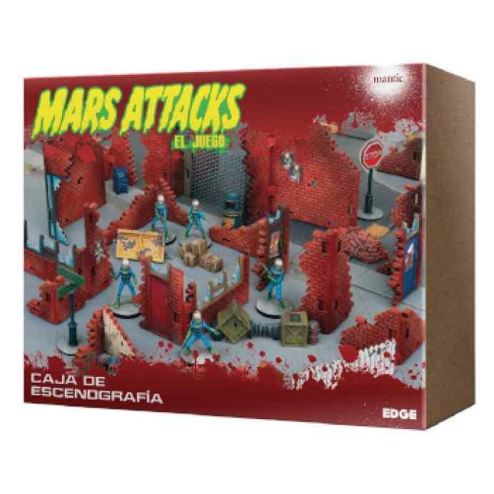 Mars Attacks: Caja de escenografía TABLERUM