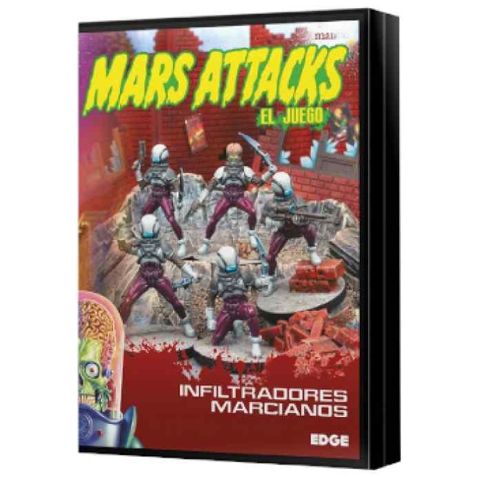 Mars Attacks: Infiltradores marcianos TABLERUM