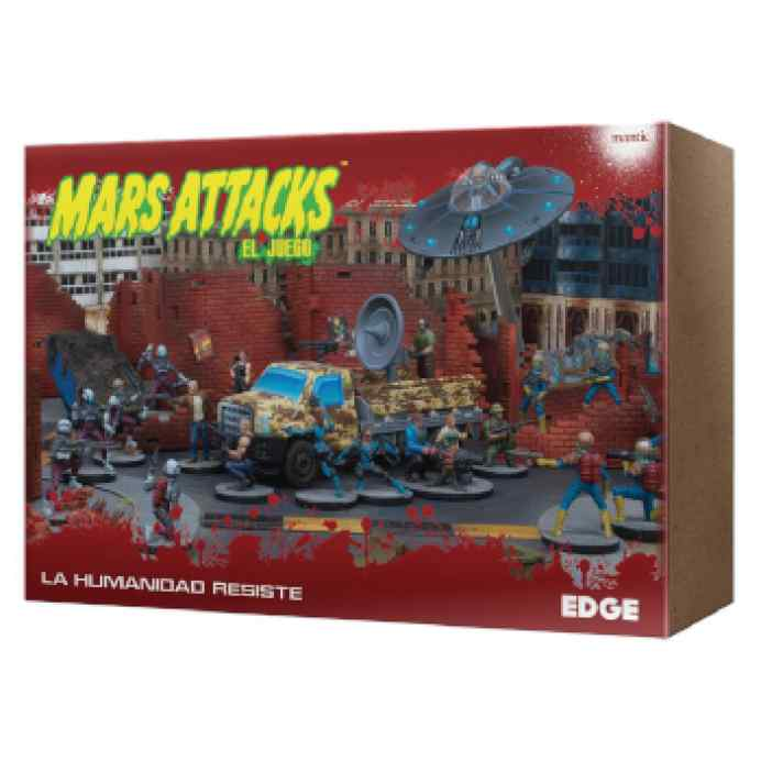 Mars Attacks: La humanidad resiste TABLERUM