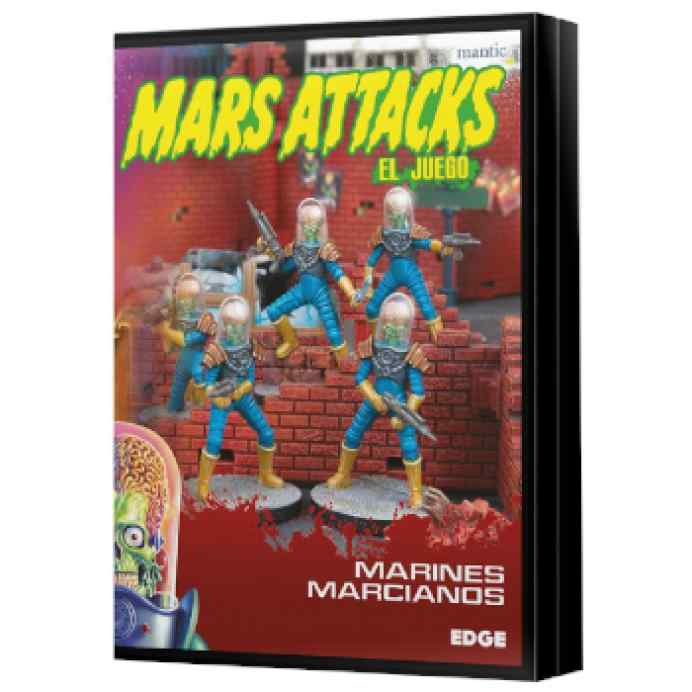 Mars Attacks: Marines marcianos TABLERUM