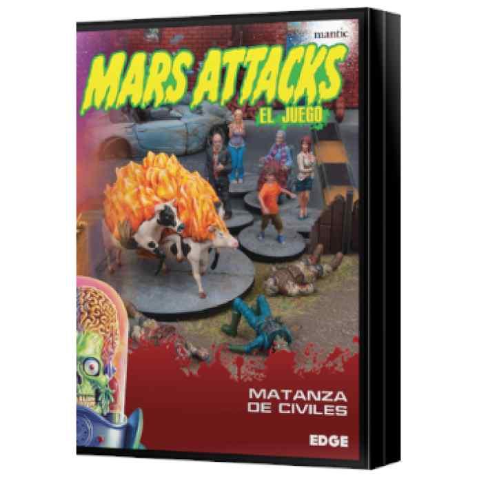 Mars Attacks: Matanza de civiles TABLERUM