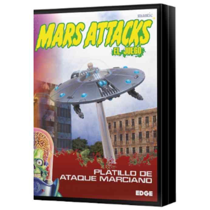 Mars Attacks: Platillo de ataque marciano TABLERUM