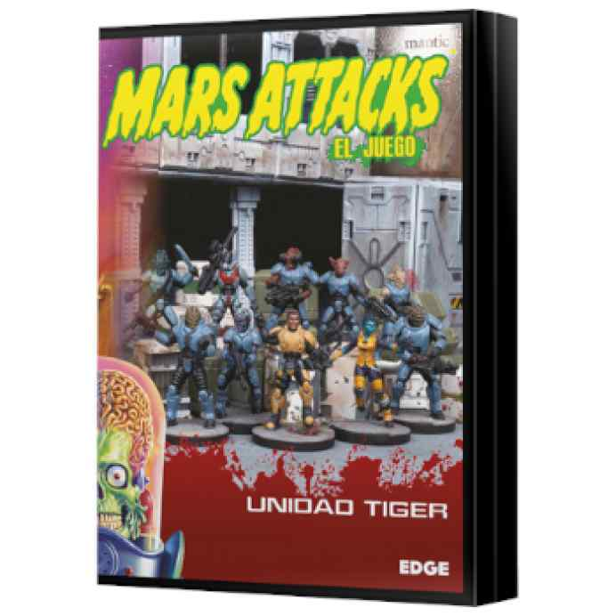 Mars Attacks: Unidad Tiger TABLERUM