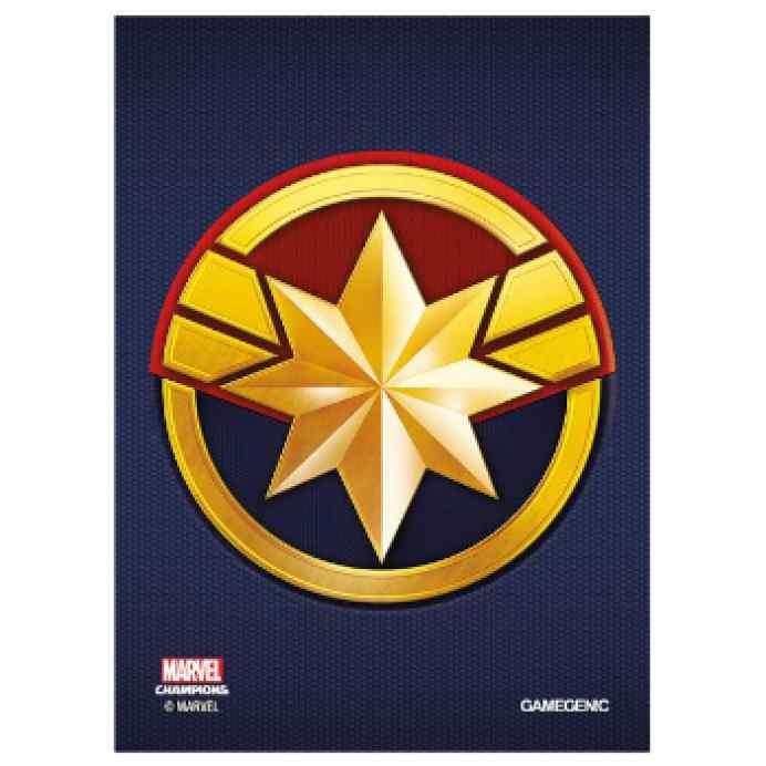 Marvel Champions: Fundas Capitana Marvel TABLERUM