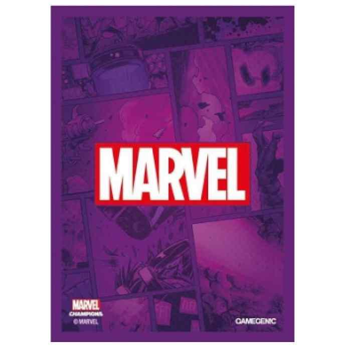 Marvel Champions: Fundas Marvel (Púrpura) TABLERUM