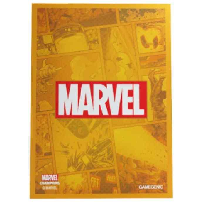 Marvel Champions: Fundas Marvel (Naranja) TABLLERUM