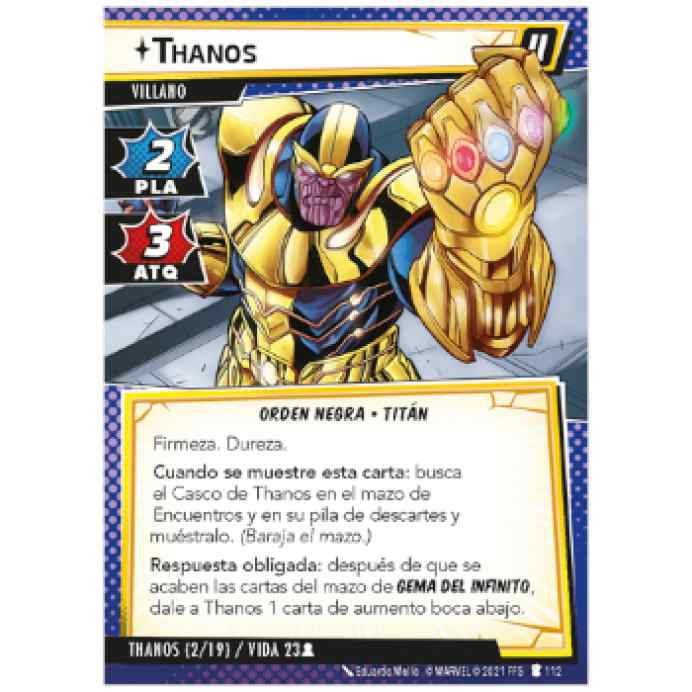 Marvel Champions: La Sombra del Titán Loco TABLERUM