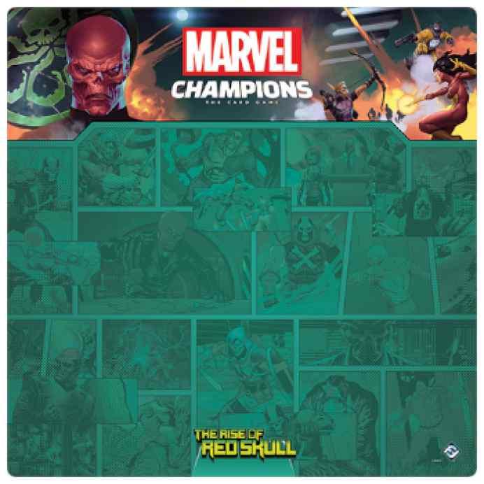 Marvel Champions: Tapete Cráneo Rojo TABLERUM