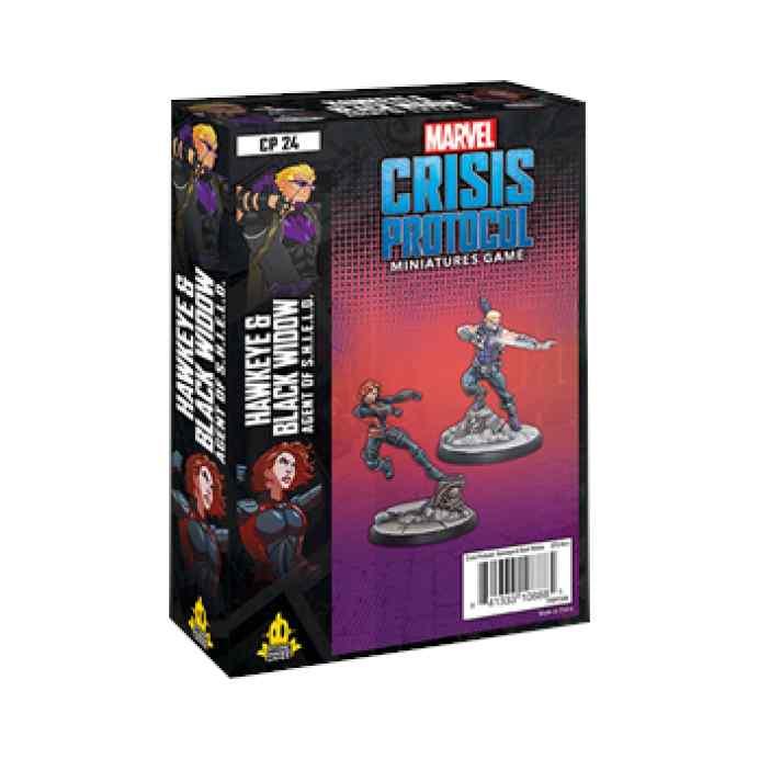 Marvel Crisis Protocol: Hawkeye & Black Widow EN TABLERUM