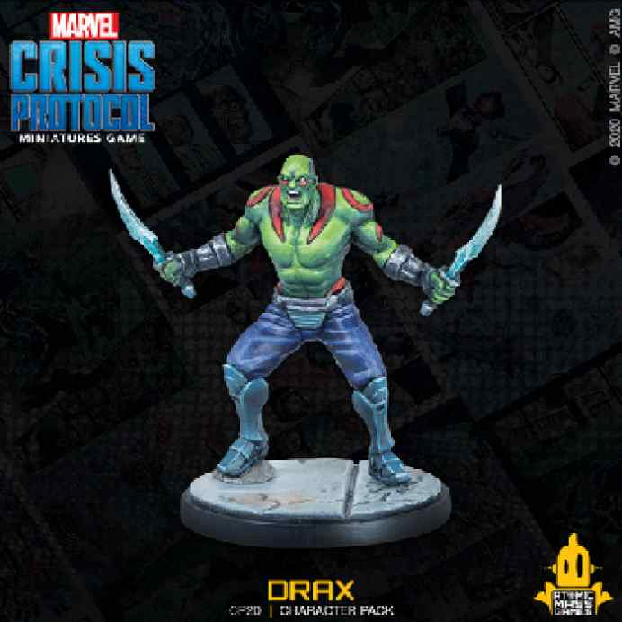Marvel Crisis Protocol: Drax & Ronan The Accuser TABLERUM