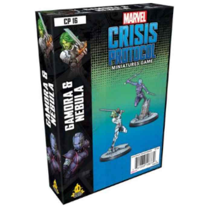 Crisis Protocol Gamora and Nebula EN TABLERUM