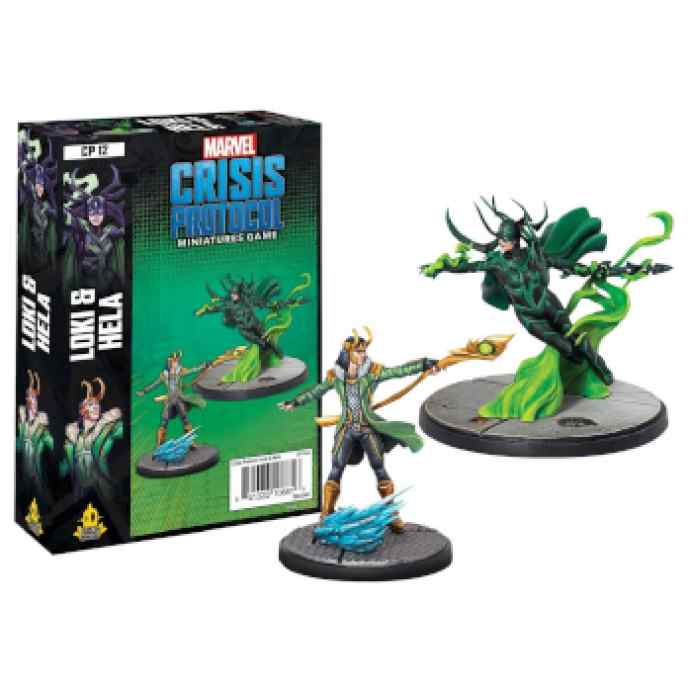 Marvel Crisis Protocol Loki & Hela Character EN TABLERUM