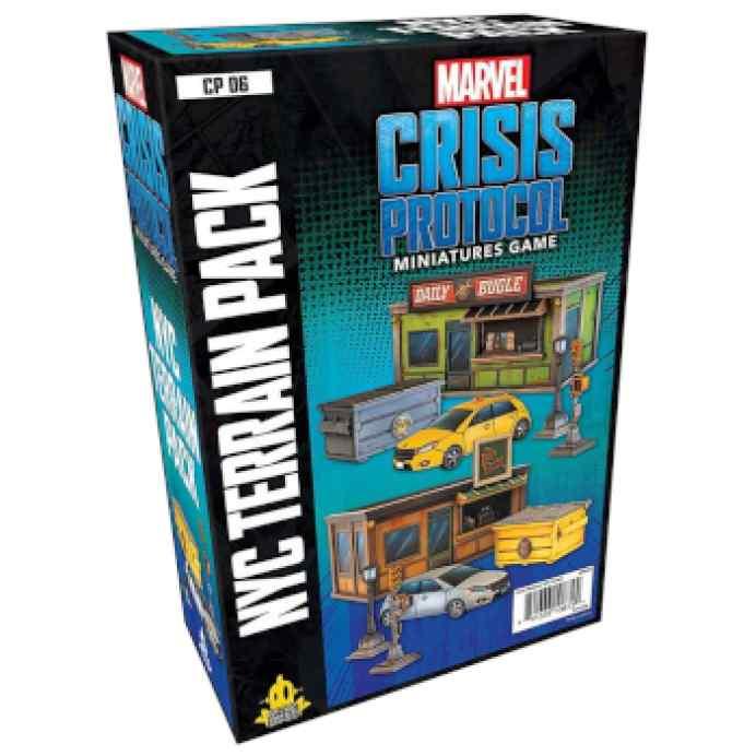 Marvel Crisis Protocol: NYC Terrain EN TABLERUM