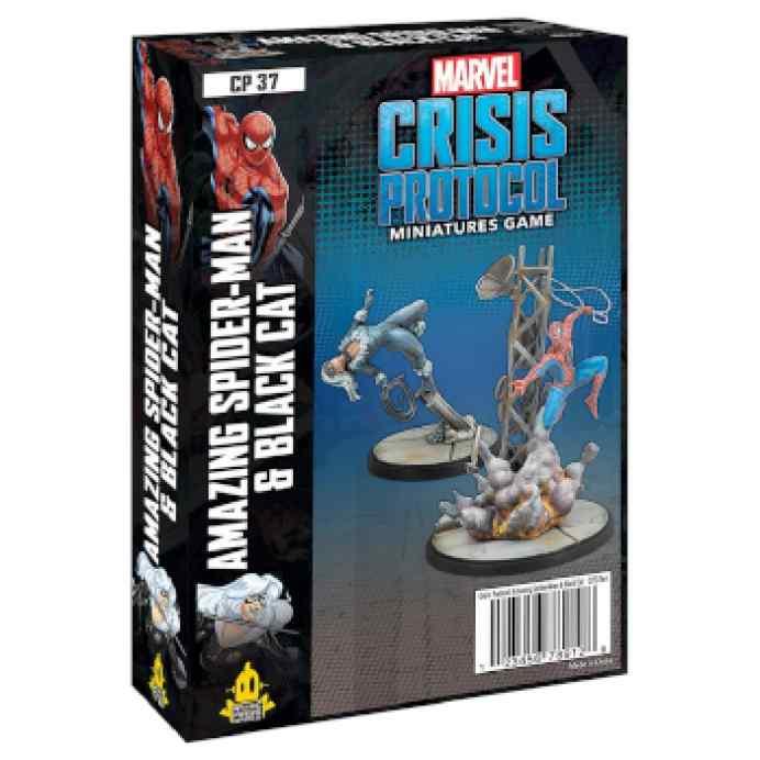 Marvel Crisis Protocol Amazing Spider-Man & Black Cat EN TABLERUM