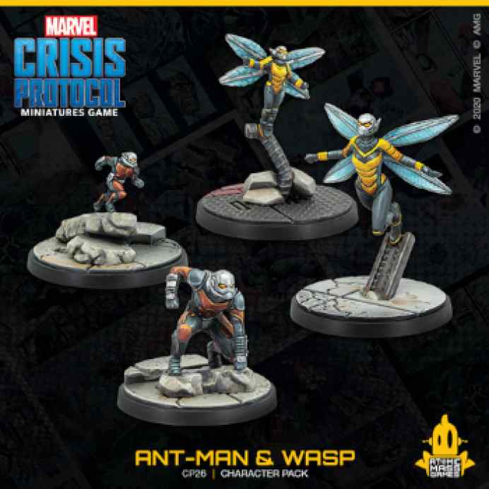 Marvel Crisis Protocol: Ant-Man and Wasp EN TABLERUM