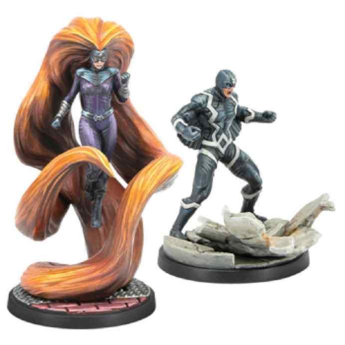 Marvel Crisis Protocol Bolt & Medusa EN TABLERUM