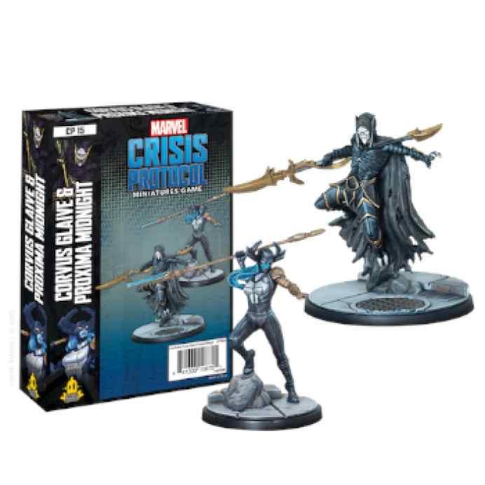 Marvel Crisis Protocol: Corvus Glaive and Proxima Midnight EN TABLERUM