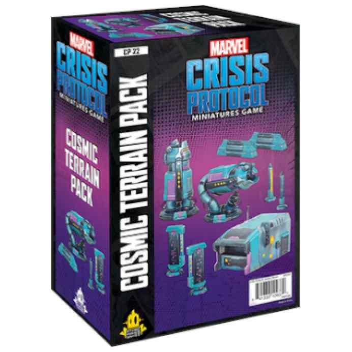 Marvel Crisis Protocol Cosmic Terrain Pack EN TABLERUM