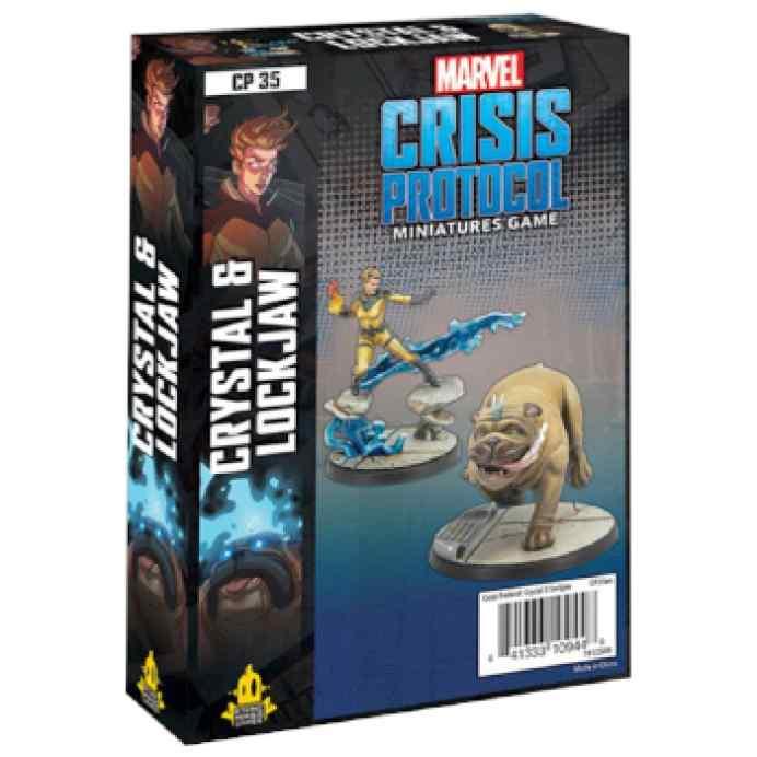 Marvel Crisis Protocol Crystal & Lockjaw EN TABLERUM