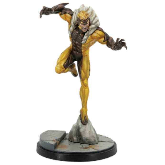 Marvel Crisis Protocol Wolverine & Sabretooth EN TABLERUM