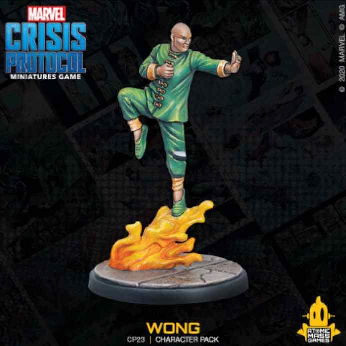 Marvel Crisis Protocol: Dr Strange & Wong EN TABLERUM