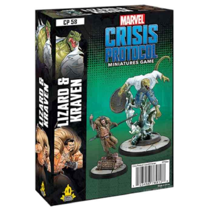 Marvel Crisis Protocol Lizard & Kraven EN TABLERUM