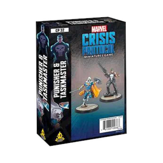 Marvel Crisis Protocol Punisher and Taskmaster EN TABLERUM