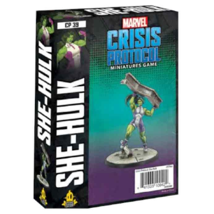 Marvel Crisis Protocol She-Hulk EN TABLERUM