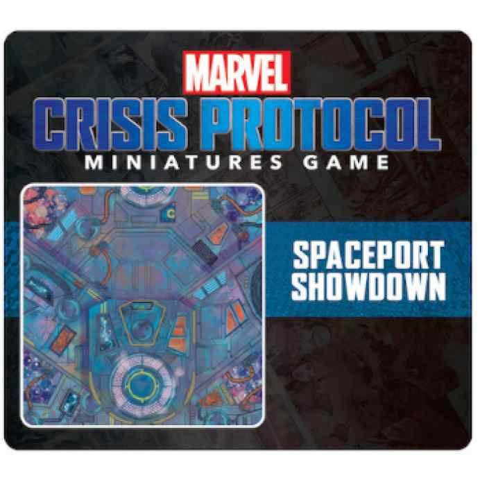 Marvel Crisis Protocol Spaceport Showdown Game Mat EN TABLERUM
