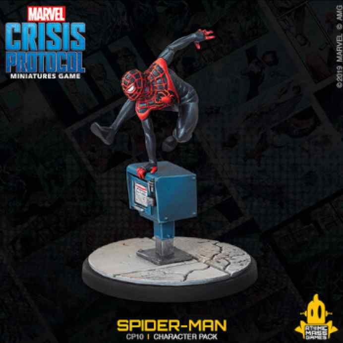 Marvel Crisis Protocol: Spider-Man & Ghost Spider EN TABLERUM