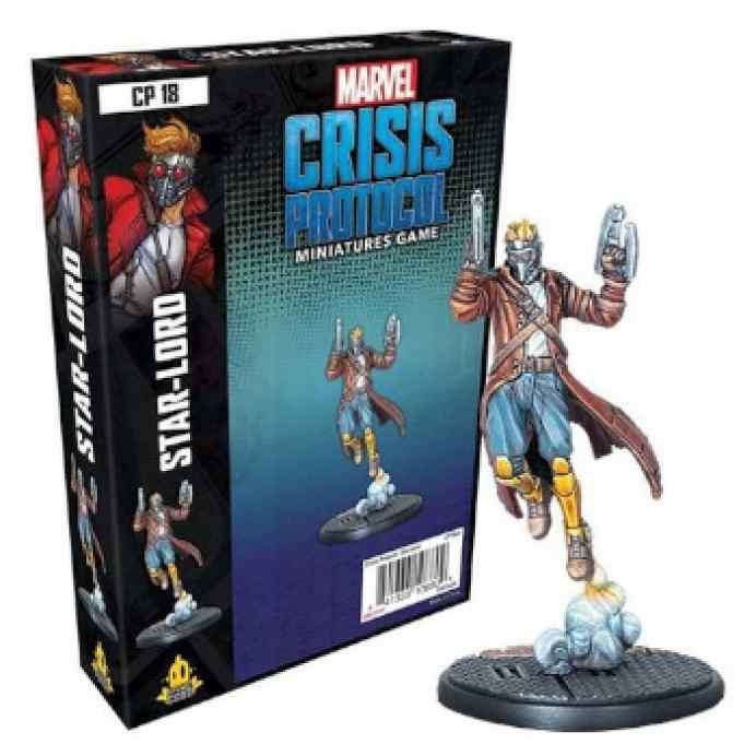 Marvel Crisis Protocol Starlord EN TABLERUM