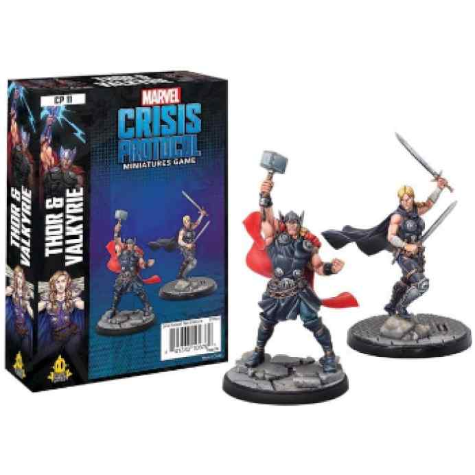 Crisis Protocol Thor & Valkyrie Character EN TABLERUM