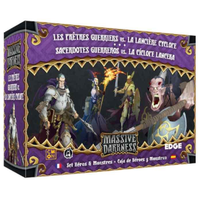 Massive Darkness: Sacerdotes Guerreros vs. la Cíclope Lancera TABLERUM