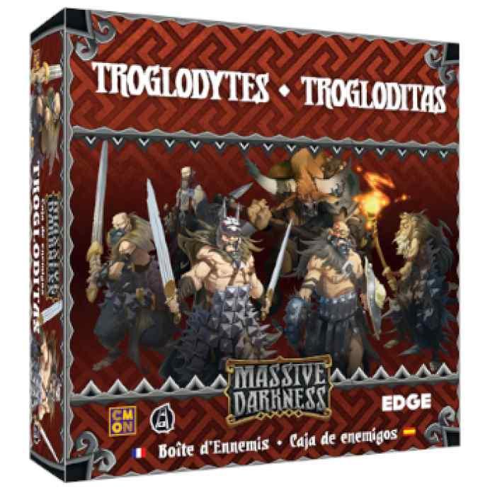Massive Darkness: Caja de enemigos: Trogloditas TABLERUM