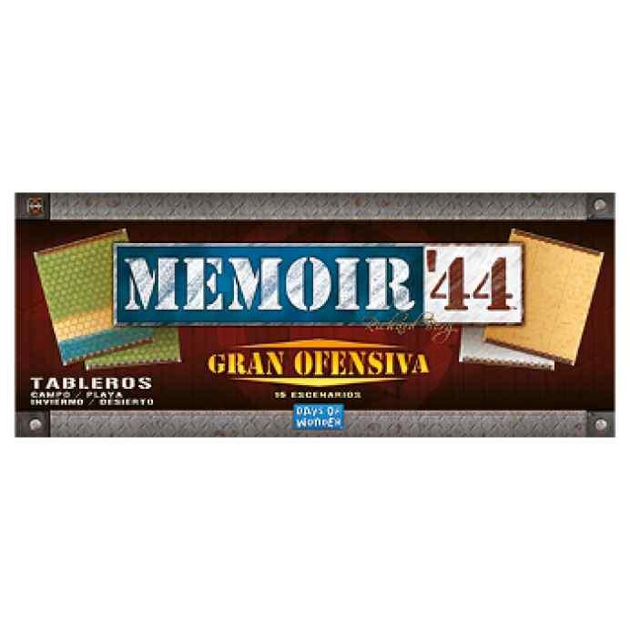 Memoir 44: Gran Ofensiva TABLERUM