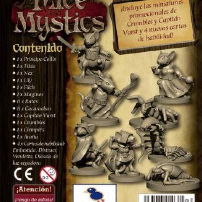 mice mistics pack miniaturas