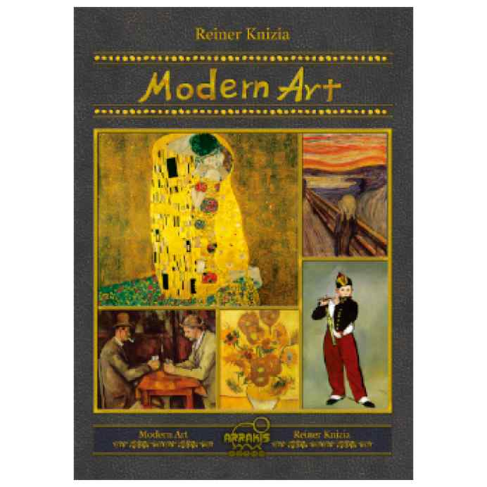 Modern Art (Ed. Coreana de lujo) TABLERUM